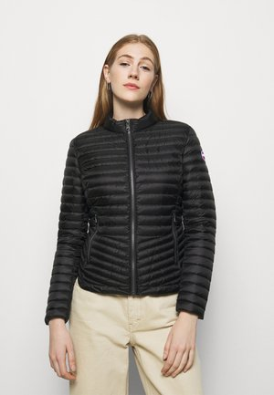 LADIES JACKET - Kurtka puchowa - black/light steel