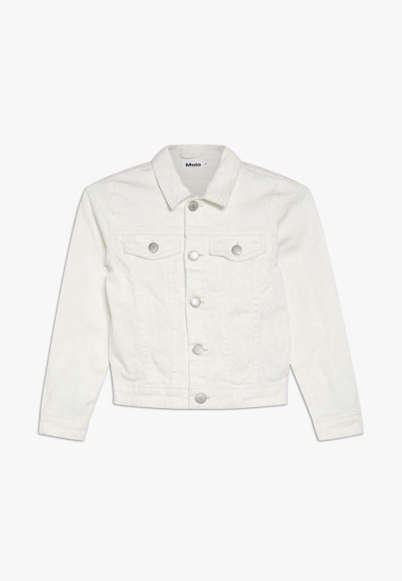 Molo - HEIDI - Denim jacket - white star