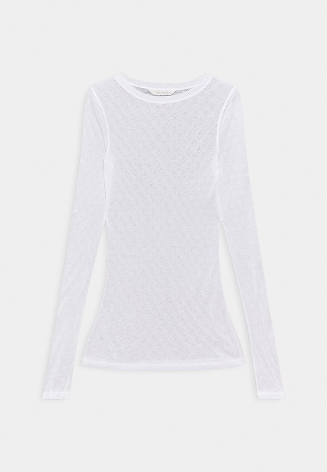 FERMI - Long sleeved top - white