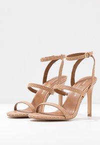 Kurt Geiger London - PORTIA - High heeled sandals - nude - 4