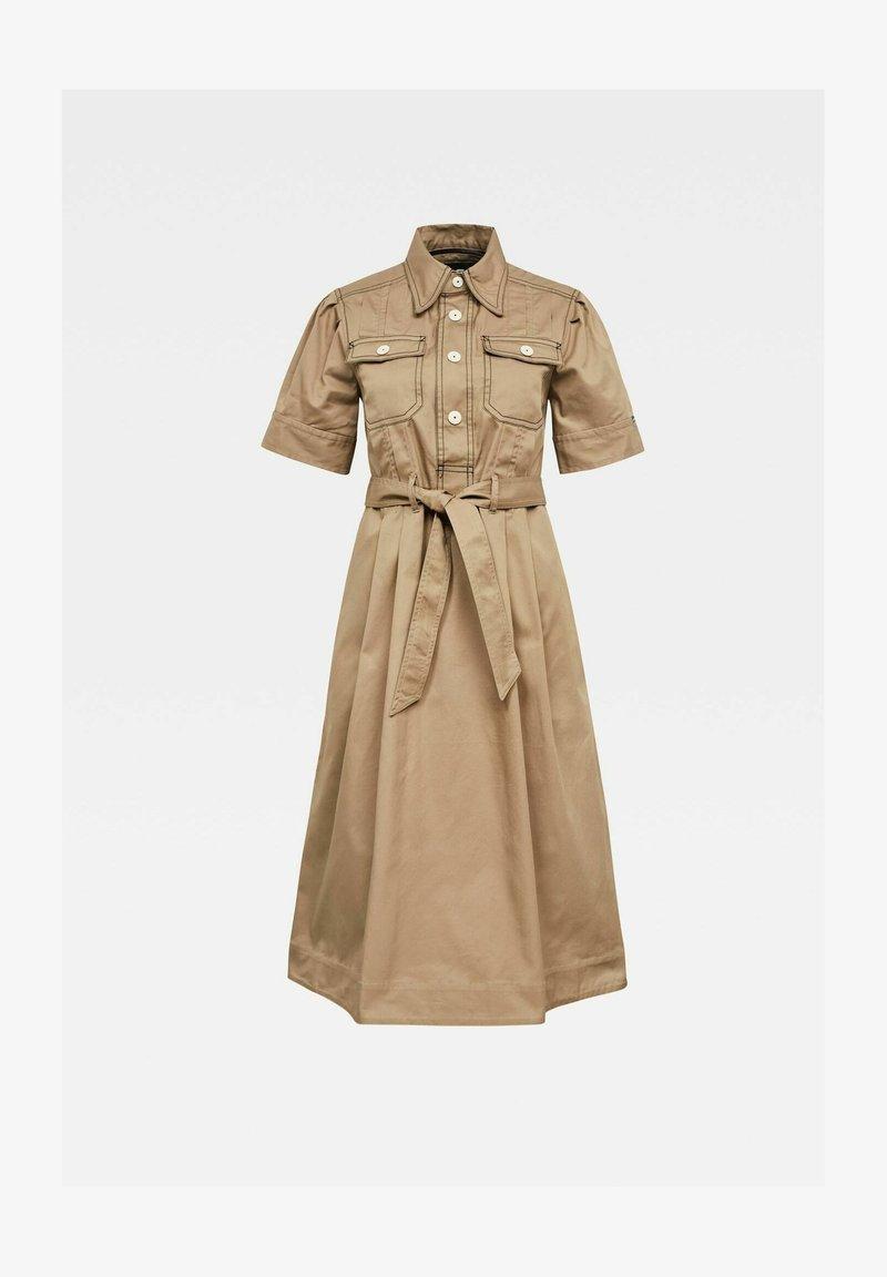 G-Star - SCOUTING DRESS - Shirt dress - berge
