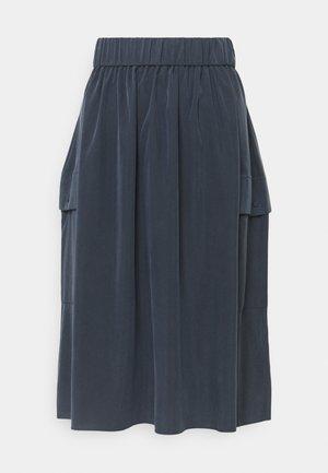 DEEP SKIRT WOMAN - A-line skirt - caviar