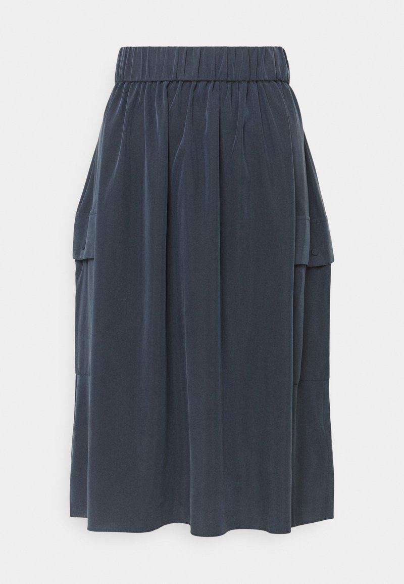 Ecoalf - DEEP SKIRT WOMAN - A-line skirt - caviar