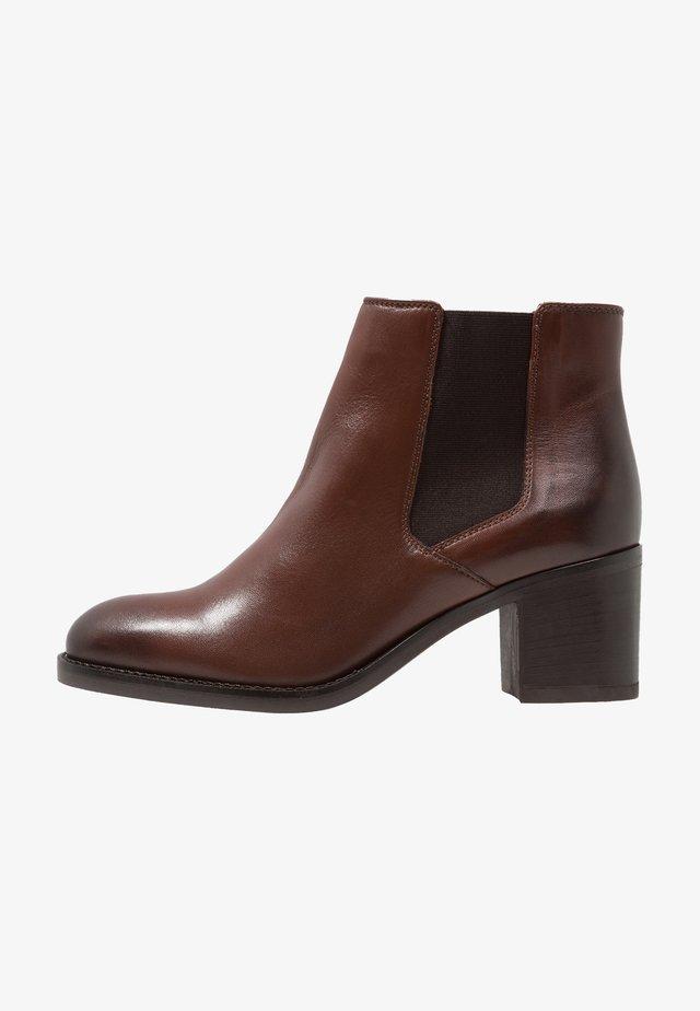 MASCARPONE BAY - Boots à talons - tan
