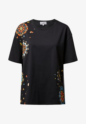 BUTTERFLY - Print T-shirt - black