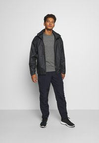 The North Face - NEVER STOP EXPLORING TEE - Print T-shirt - mottled grey - 1