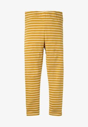 Leggings - Trousers - honiggelb/naturweiß