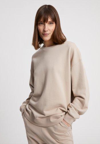 Sweatshirt - light desert