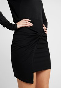 EDITED - PHILA SKIRT - Wrap skirt - black - 4
