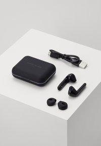 Happy Plugs - AIR 1 PLUS IN EAR UNISEX - Headphones - black - 2