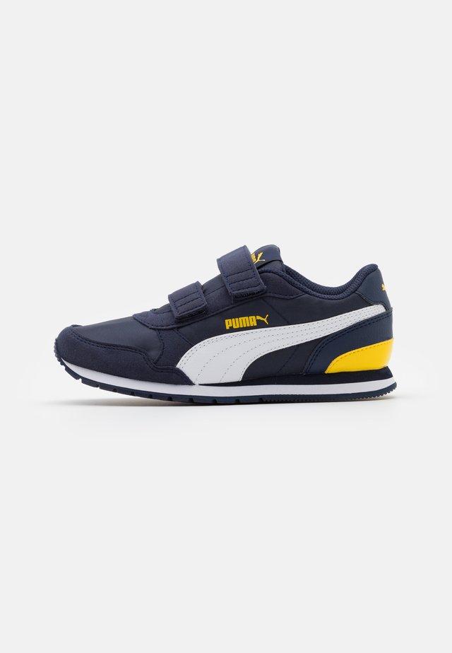 ST RUNNER V2 - Sneaker low - peacoat/white/dandelion