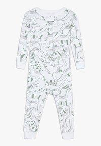 Carter's - ZGREEN BABY - Overal - white/khaki - 0