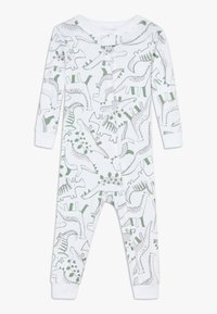 Carter's - ZGREEN BABY - Kombinezon - white/khaki - 0
