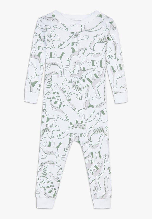 ZGREEN BABY - Tuta jumpsuit - white/khaki