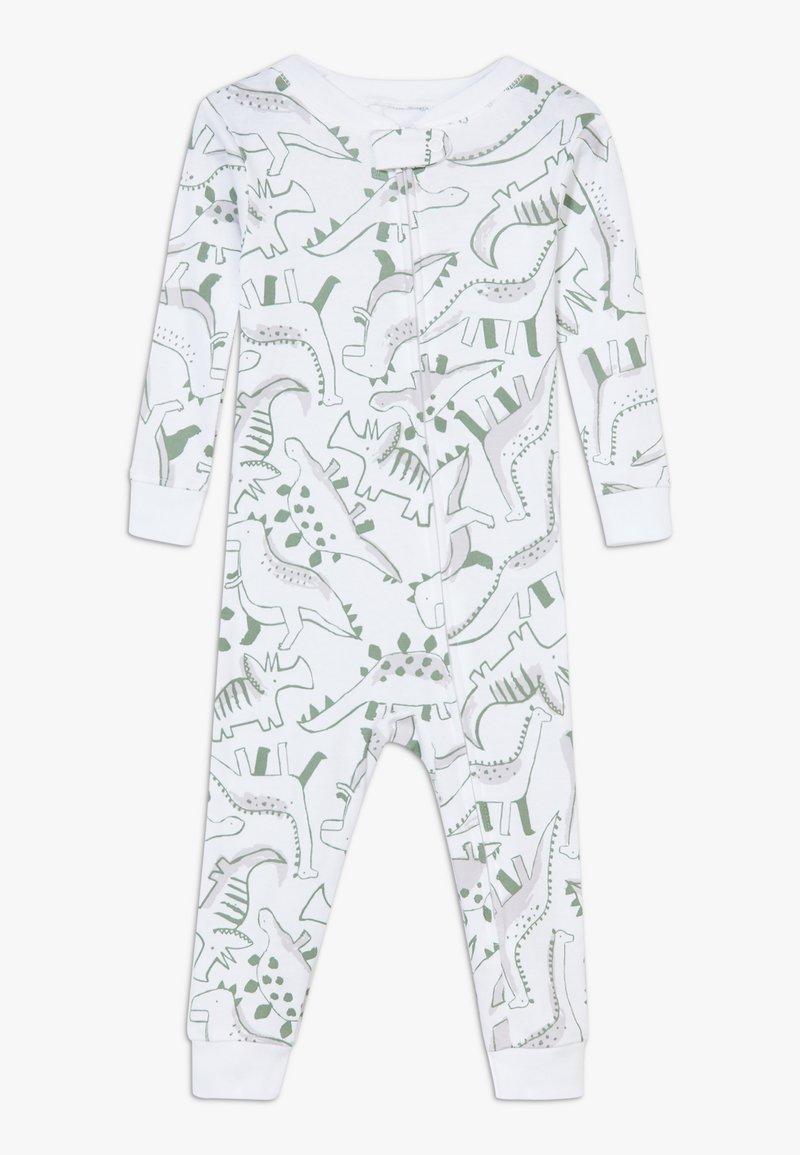 Carter's - ZGREEN BABY - Overal - white/khaki