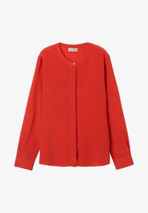 Button-down blouse - corallo