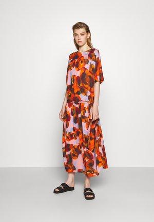 PIPETTE DRESS - Day dress - dark orange/canned peaches
