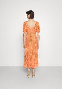 Diane von Furstenberg - TEAGAN DRESS - Day dress - tomato red - 2