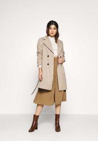 Pieces Petite - LIV SKIRT PETIT - A-line skirt - kangaroo - 1