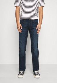 Lee - DAREN ZIP FLY - Jeans straight leg - dark sidney - 0