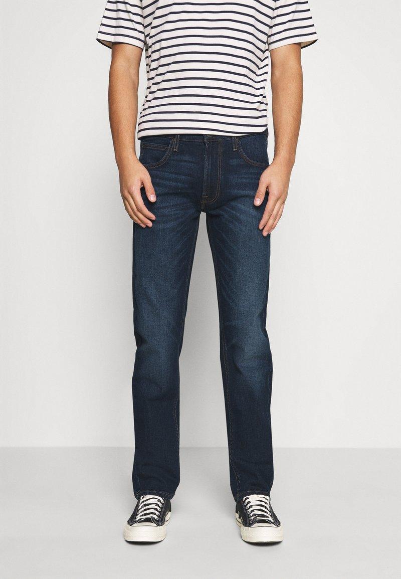 Lee - DAREN ZIP FLY - Jeans straight leg - dark sidney