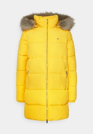MODERN COAT - Vinterkåpe / -frakk - star fruit yellow