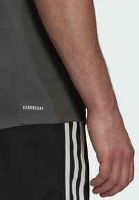 adidas Performance - AEROREADY DESIGNED 2 MOVE SPORT T-SHIRT - T-shirts print - grey - 3