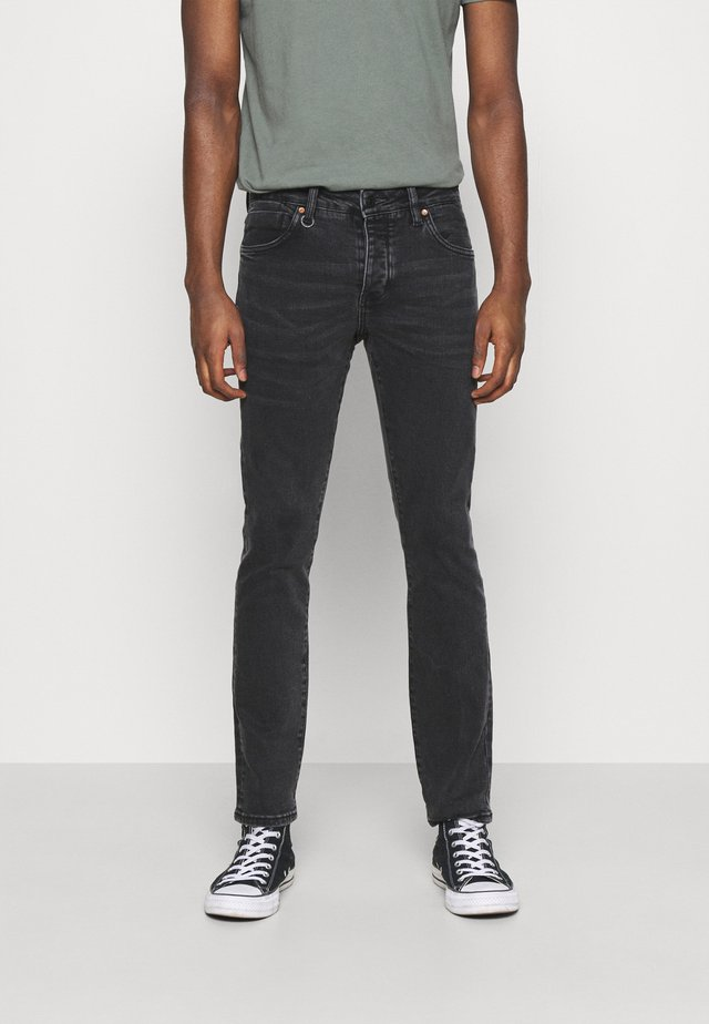 IGGY  - Džíny Slim Fit - black denim