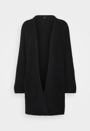 YASALVA LONG CARDIGAN PETITE - Cardigan - black