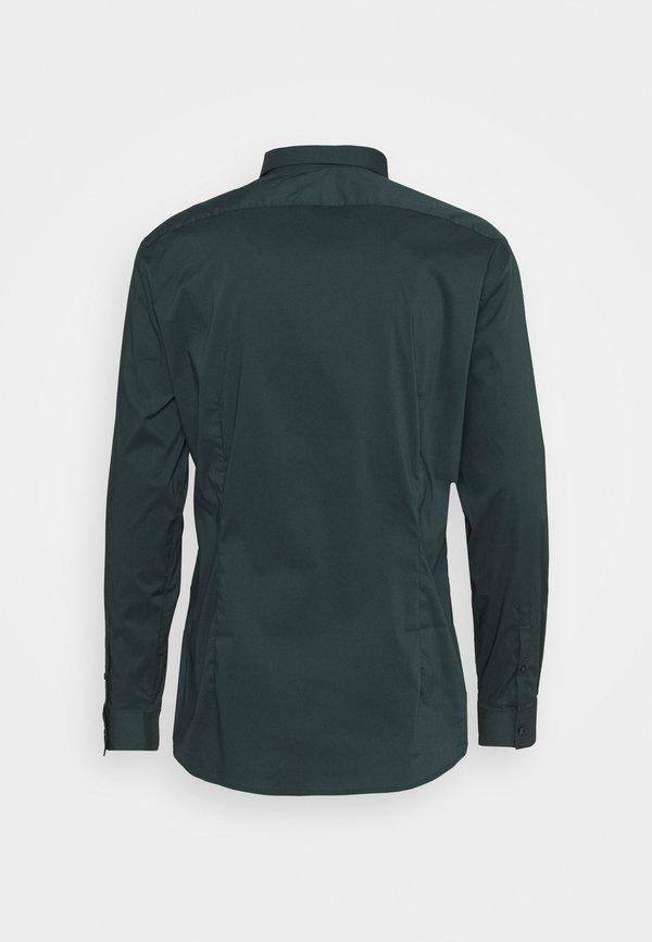 CELIO MASANTAL SLIM FIT - Koszula biznesowa - dark green/ciemnozielony Odzież Męska ZVCG