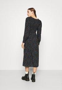 Dorothy Perkins - SMOCKED MIDI  - Day dress - black - 2