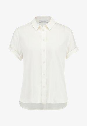 MAJAN SHIRT - Button-down blouse - clear cream