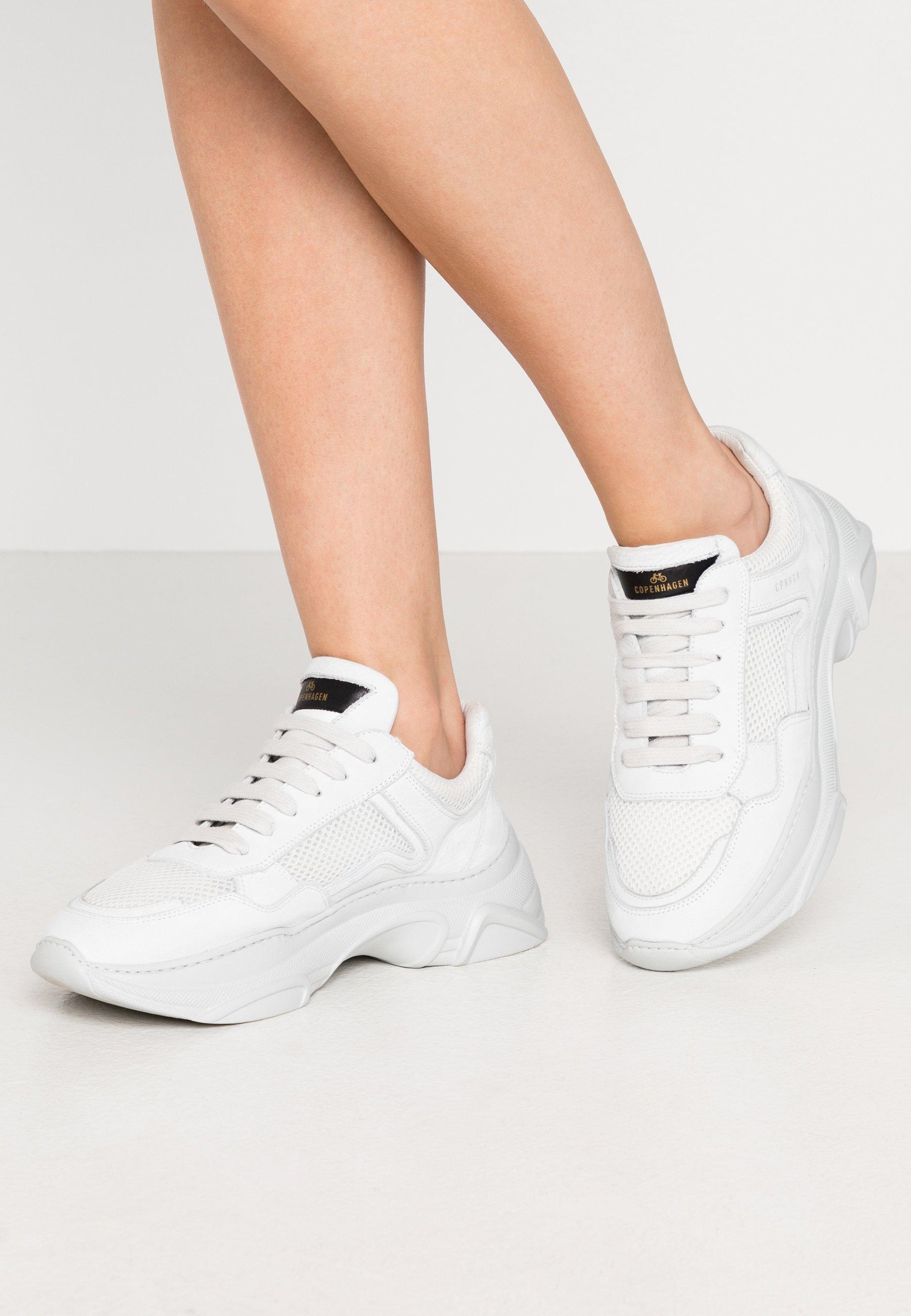CPH21 Höga sneakers white