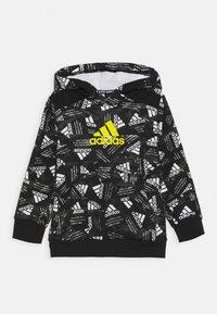 adidas Performance - Hoodie - black/yellow - 0