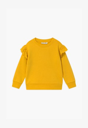 NMFOLISA LOOSE - Sweater - spicy mustard