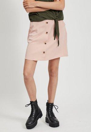 A-line skirt - misty rose