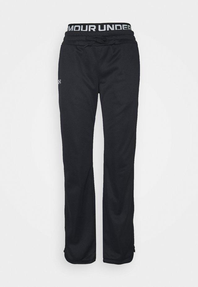 BRANDED PANTS - Teplákové kalhoty - black