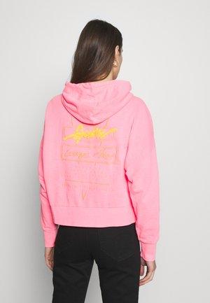 GALA - Zip-up hoodie - las palmas pink