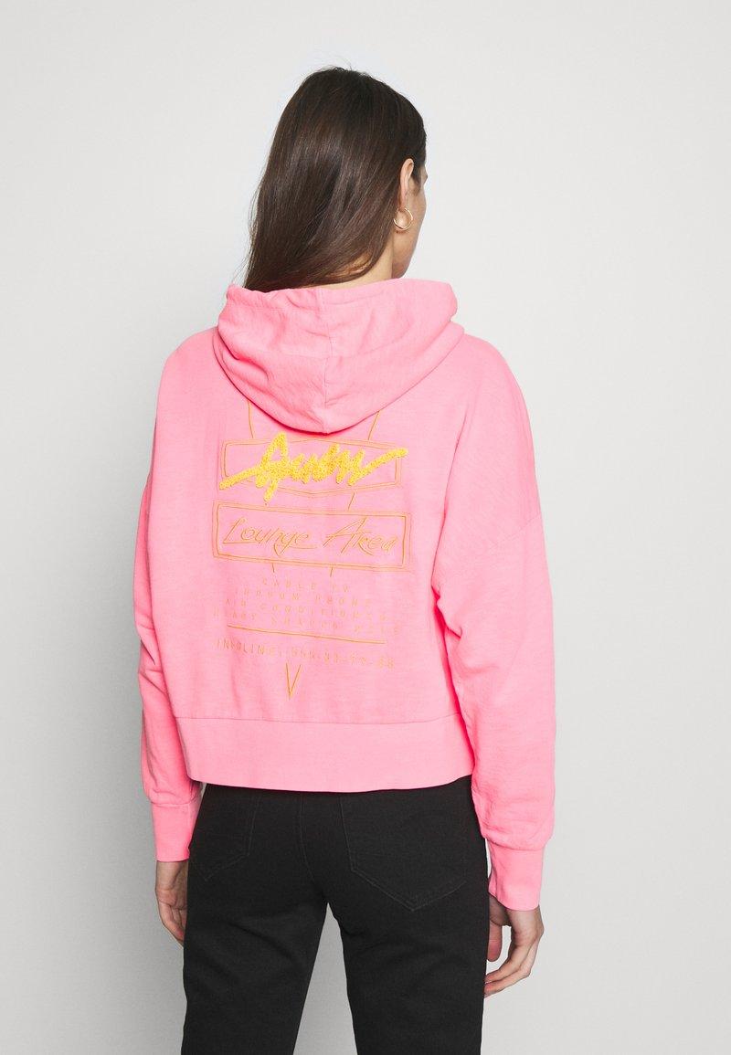 Guess - GALA - Zip-up hoodie - las palmas pink