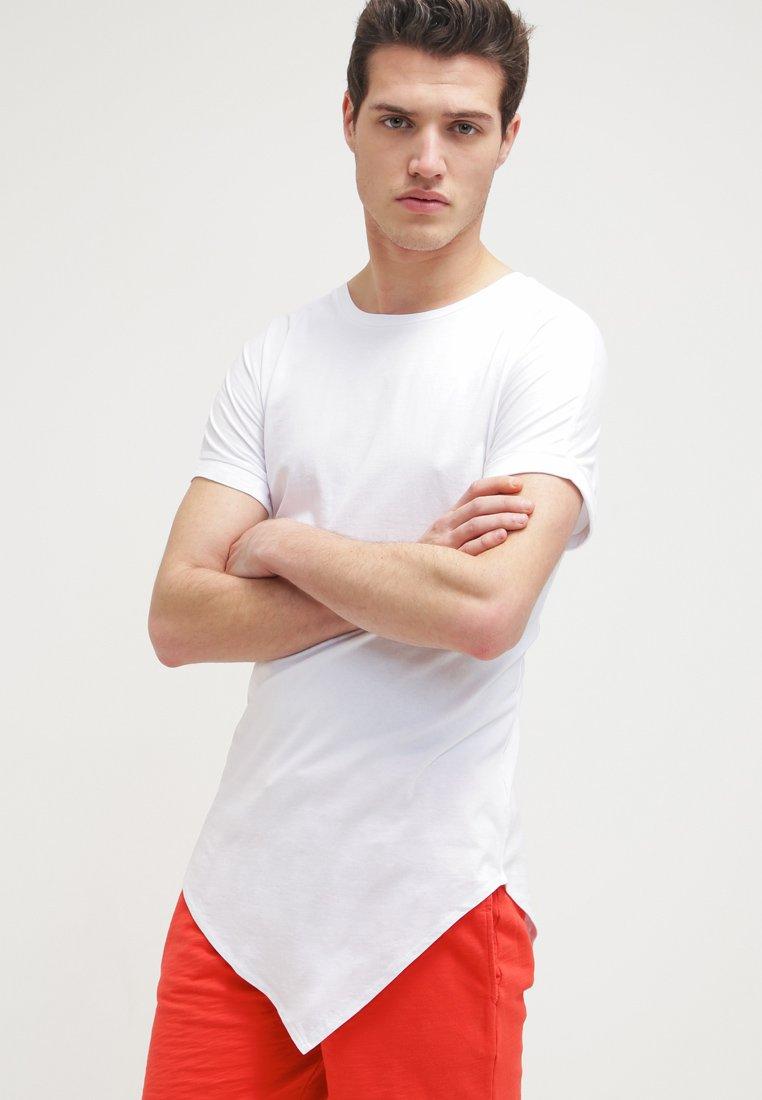 Urban Classics - Print T-shirt - white
