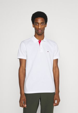 CONTRAST PLACKET REGULAR - Poloshirt - white