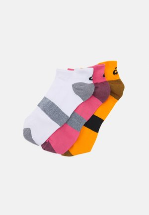 LYTE 3 PACK UNISEX - Sports socks - peach petal/white/sun peach