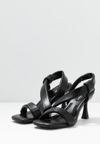 RAID - ZELIE - High heeled sandals - black - 4