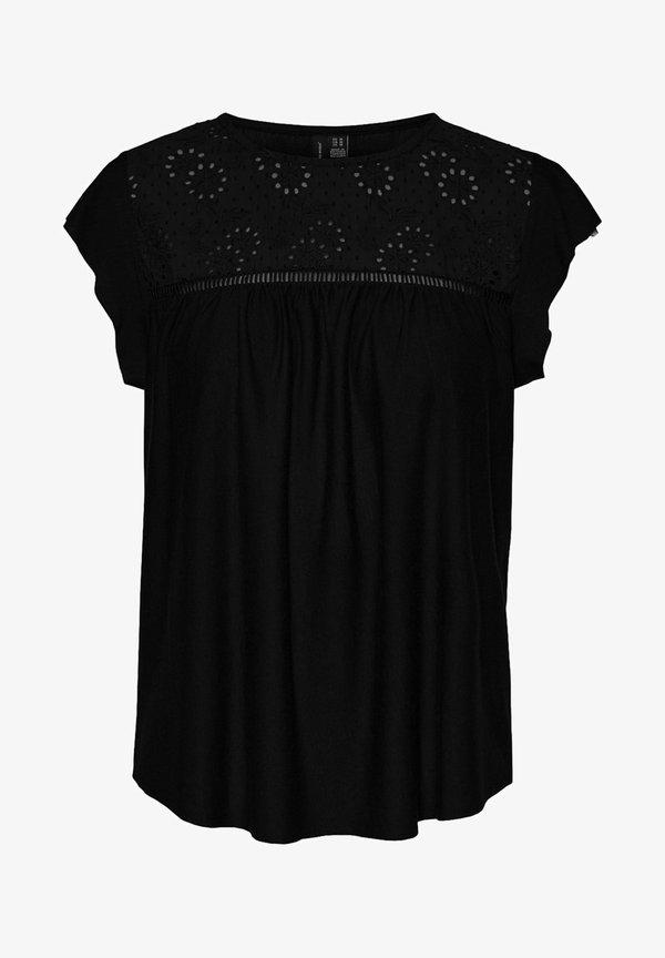 Vero Moda Bluzka - black/czarny OAQM