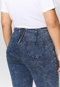 Simply Be - SHAPER JEGGING - Jeans Skinny Fit - blue acid - 3