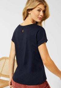 Cecil - MIT ETHNO-PRINT - Print T-shirt - blau - 2