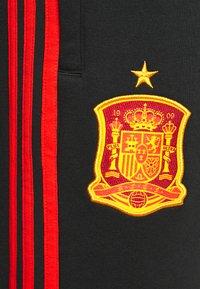 adidas Performance - FEF SPANIEN 3S PNT - Squadra nazionale - black - 5