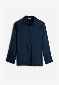 Intimissimi - MIT UMSCHLAGMANSCHETTE - Pyjama top - blu intenso - 3