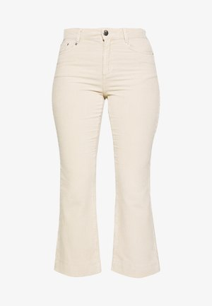 DAY KADIFE - Trousers - ivory