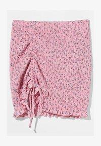 Bershka - Mini skirt - pink - 4